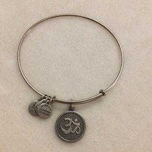 OHM symbol bracelet
